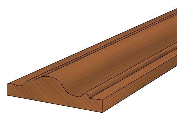 neat finish on wood