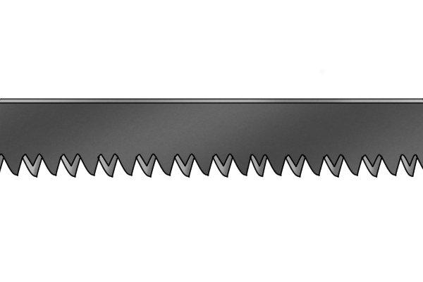 Blade of 18 TPI