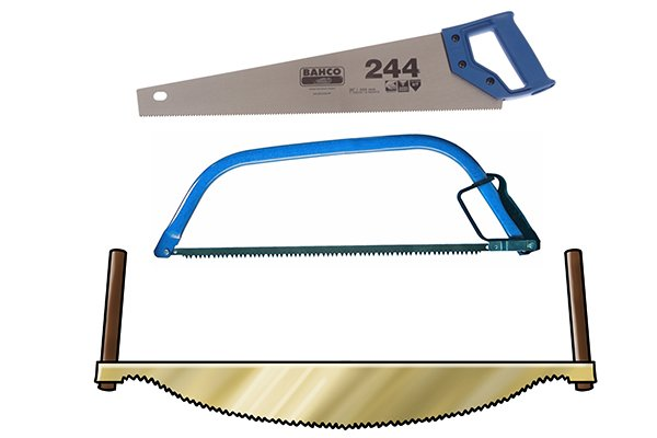 Larger sized saws
