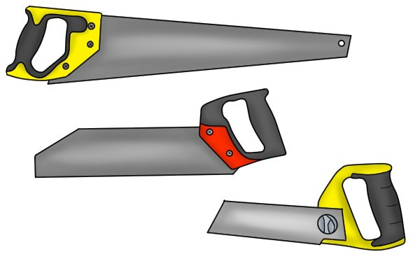 These saws are often used by workers in the UPVC industry