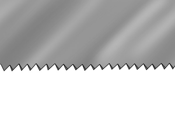 Floorboard saws tend to have small teeth with relatively shallow gullets
