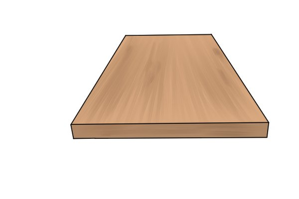 A floorboard saw can be used to cut floorboards to size before they are laid