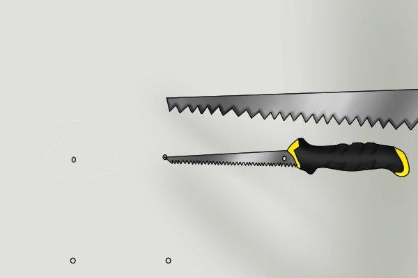 Drywall saw blade tip