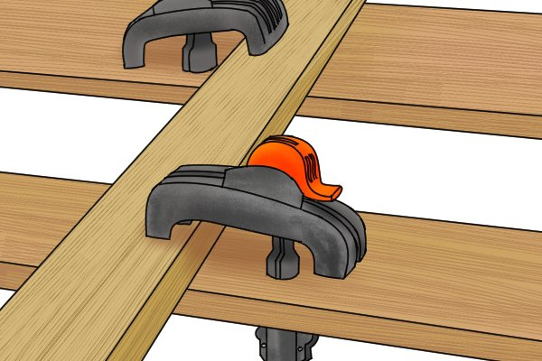 You may find it helpful to secure the material you want to cut in a clamp. This will prevent it moving around while you are working.