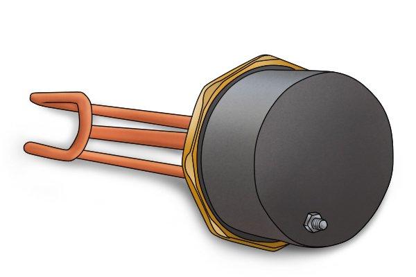 Image of an immersion heater element