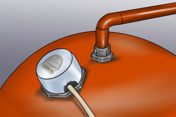 How to remove an immersion heater element