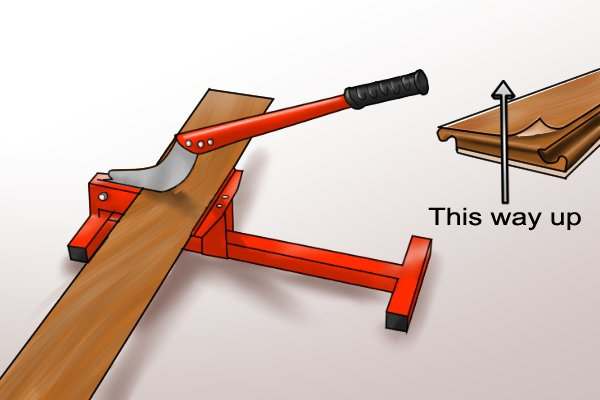 How To Cut Widthways With A Laminate Floor Cutter