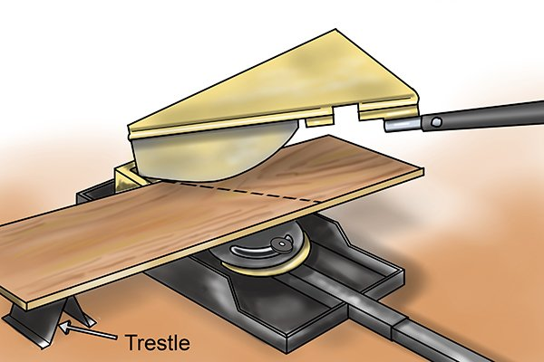 How To Cut Angles With A Laminate Floor Cutter