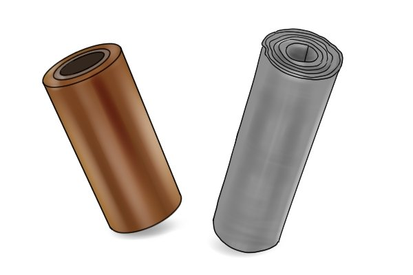 Sheet copper and sheet lead
