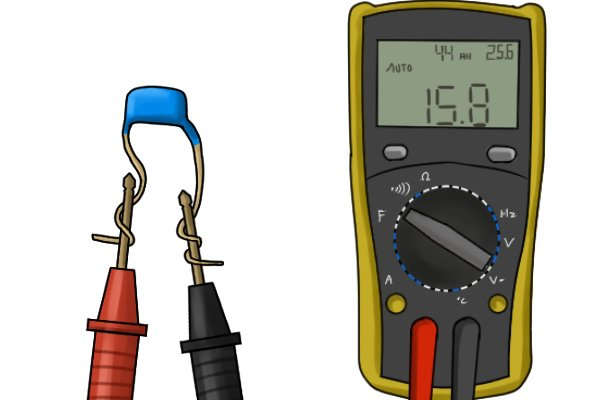 Farad Symbol On Multimeter : How to test capacitance with a multimeter