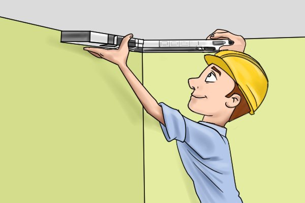 Measure angles before cutting, this will ensure you are accurate with your mitre cuts