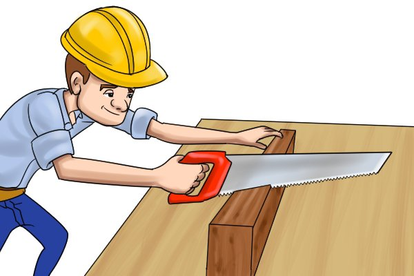 Bevel cuts can sometime be called a side mitre cut or edge mitre cut