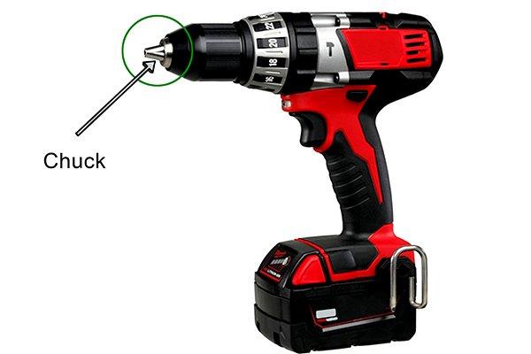 chuck on drill