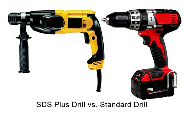 SDS Plus Drill Vs Standard Drill