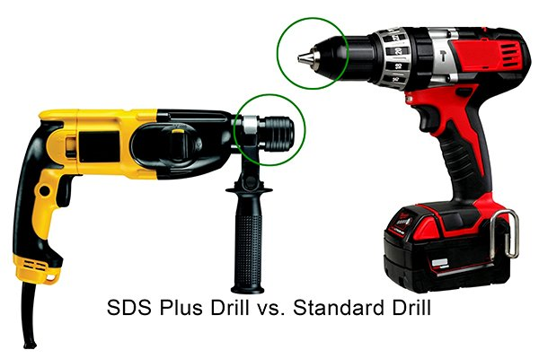 Power Drills and SDS type Drills have different chucks on them, therefore the shanks of the drill bits are different to suit the different chucks they fit into.
