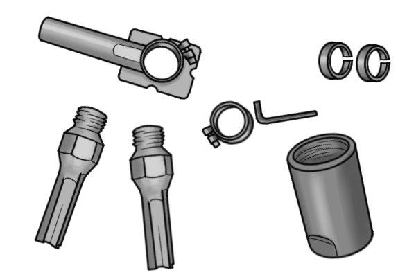 Using a mortar rake with an angle grinder gives you the option to use a mortar rake starter kit.