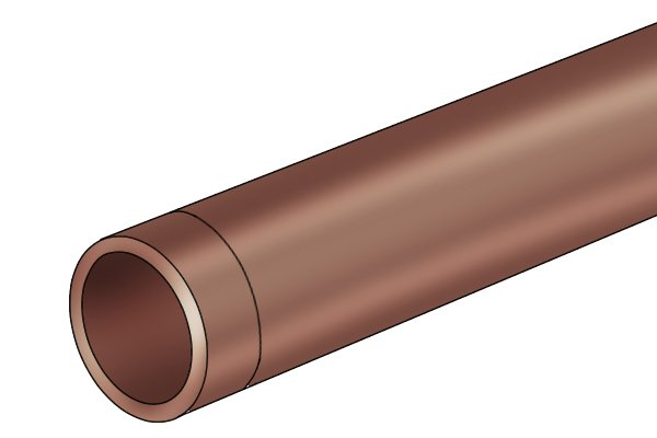 copper pipe, burr free, plumbing, olive remover, compression fitting