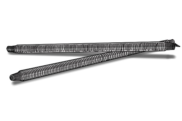 internal pipe bending springs different sizes, copper piping, plumbing tools