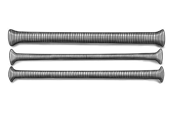external bending springs, pipe bender, plumbing tools