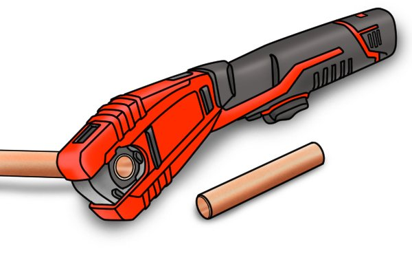 Power pipe cutter