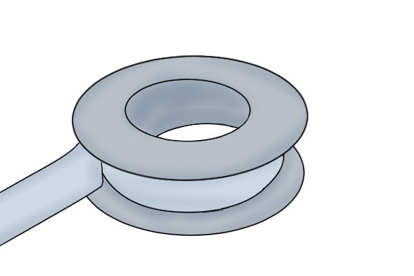 Thread seal tape is used for sealing pipe threads. It is a low friction tape that acts as a lubricant to allow tapered pipe threads to be screwed together until they deform to create a seal. It can be used on copper and PVC tubes/piping.