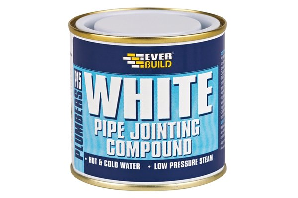 Pipe joint compound is a thread lubricant and sealant that is used to make a pipe thread joint leak proof and pressure tight. This compound can be used on copper and PVC, however, make sure you read the packaging carefully, as not all pipe joint compounds can be used on plastics.