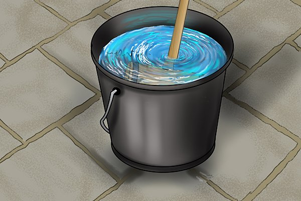 Soaking a maul in a bucket of water may help to tighten the handle onto head