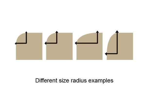 Radius examples