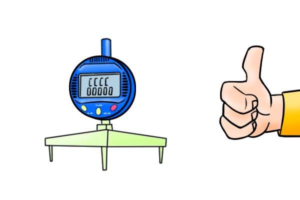 Advantages of a digital radius gauge