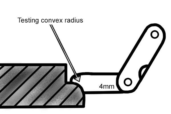 Testing a convex radius