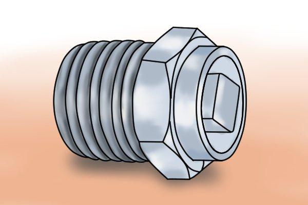 Brass bleed valve