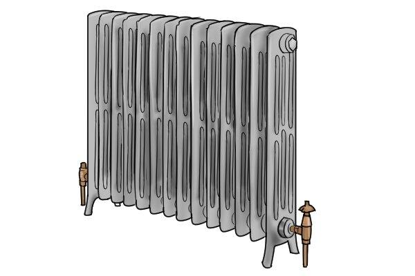 Cast iron radiator 2