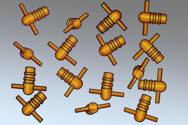 Brass bleed keys