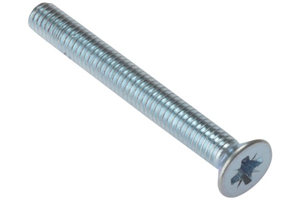 Machine screw with a type B tip