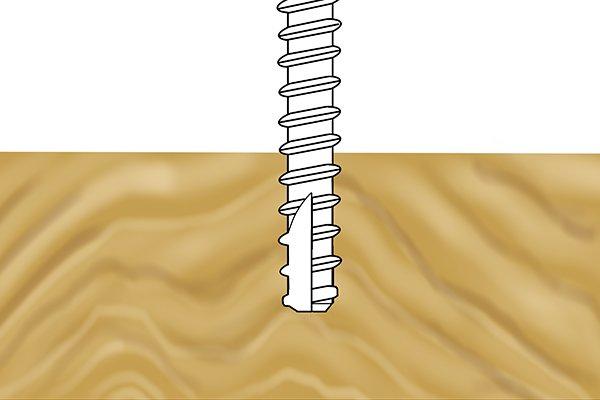 Type 25 thread-cutting screw tip
