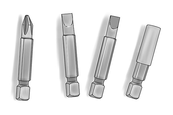 Machined screwdriver bits