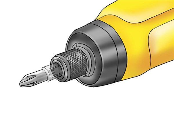Screwdriver and screwdriver bit