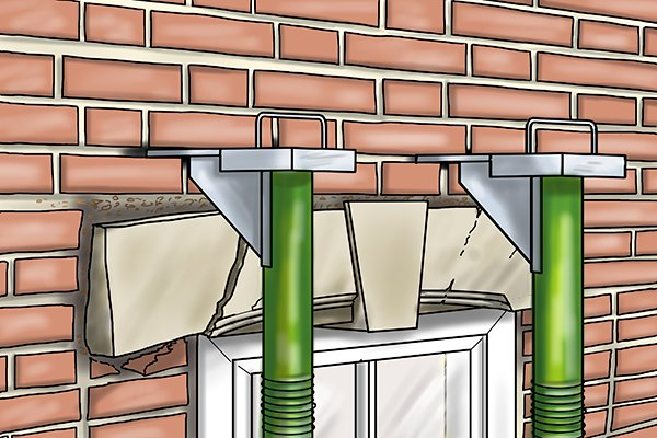 How To Remove Or Replace A Lintel