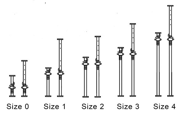 Acrow Props Size 1 : What is an all steel adjustable prop