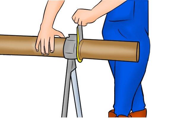 Soil and drain tube cutter