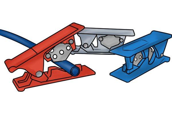 Pivot tube cutter