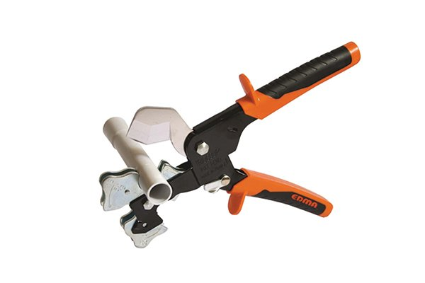 Three way cutter with plastic tubing