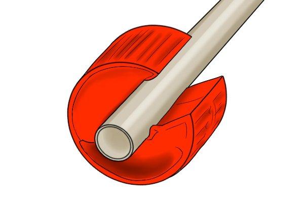 Wheel tube cutter