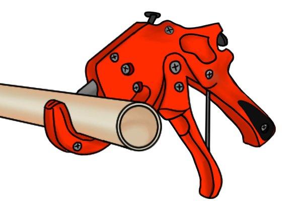 Trigger tube cutter