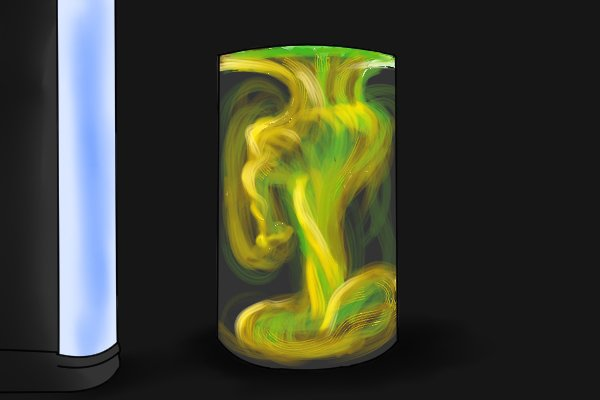 Fluorescent dye and black light