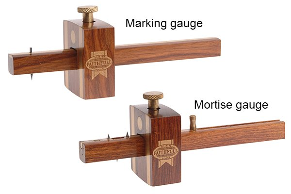 They can be used as an alternative to both a marking gauge and a mortise gauge to draw lines a set distance from an edge. See How do you use trammel heads as a marking gauge? and How do you use trammel heads as a mortise gauge?
