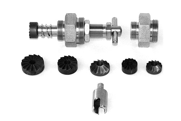 choose the right sized parts for your tap