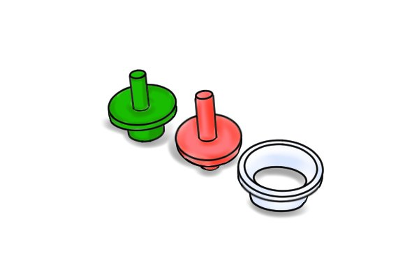 tap seat liners and washers kit