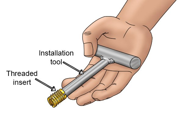 How To Install A Solid Externally Threaded Insert
