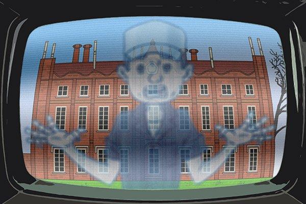 static tv ghost